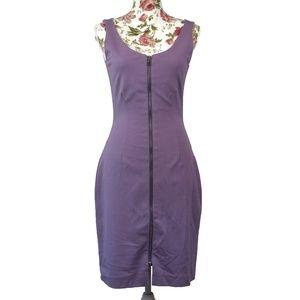 3/$35 Amy Motto Exposed Zipper Sheath Dress Size 6